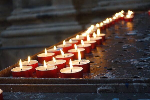 Candles in Venice Cathedral